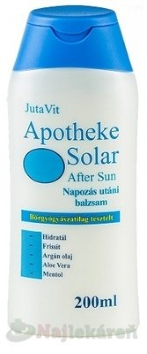 APOTHEKE SOLAR AFTER SUN 200ML JUTAVIT