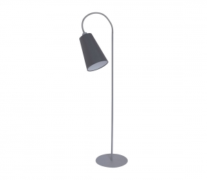 TK Lighting TK Lighting 3078- Stojacia lampa WIRE GRAY 1xE27/60W/230V šedá TK3078